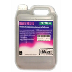 DJS Premium Dense Haze Fluid 5L-Special Effects-DJ Supplies Ltd