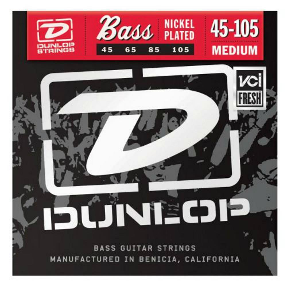 Dunlop DBN2014 45-105 Nickel Bass Strings-Accessories-DJ Supplies Ltd
