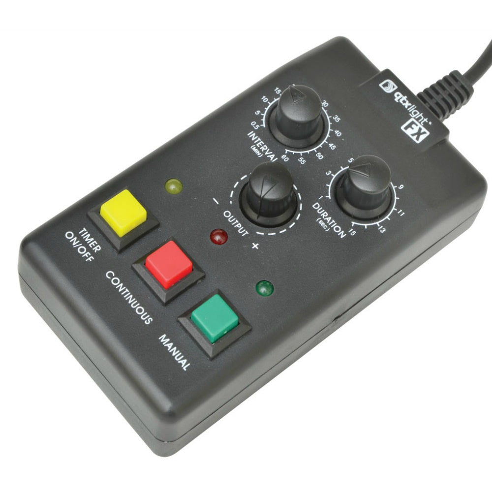 QTX HZ3 Haze Machine Remote-Special Effects-DJ Supplies Ltd