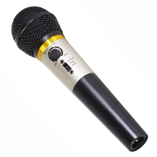 Karaoke Microphone With Echo-Microphones-DJ Supplies Ltd