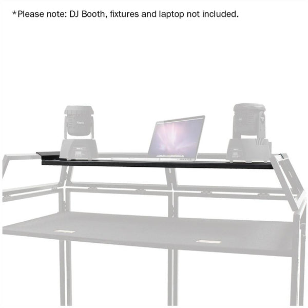 Equinox DJ Booth Laptop Shelf-Stand Accessories-DJ Supplies Ltd