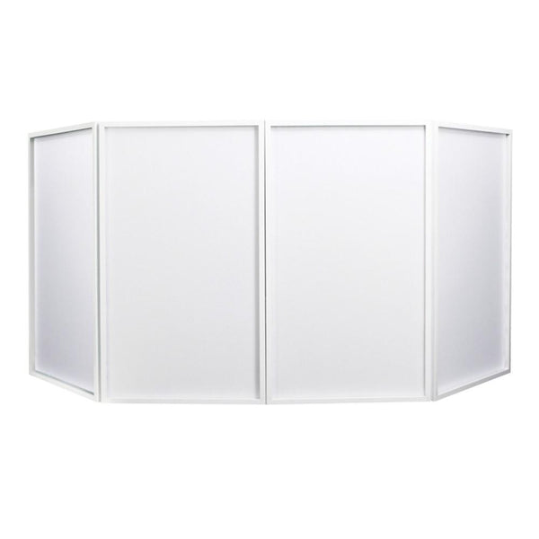 Equinox Foldable DJ Screen Mk2 White-Stand Accessories-DJ Supplies Ltd