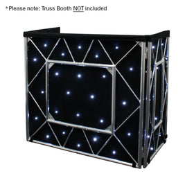 Equinox Truss Booth LED Starcloth System CW-Stand Accessories-DJ Supplies Ltd
