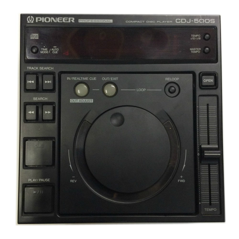 Pioneer CDJ500S Cd Player (Used)-Cd Players-DJ Supplies Ltd