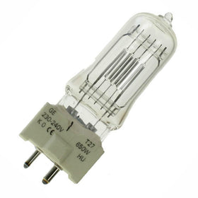 GE T27 Theatre Lamp 240v 650w-Lamps-DJ Supplies Ltd