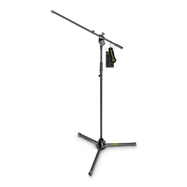 Gravity Microphone Stand MS4321B-Mic Stands-DJ Supplies Ltd