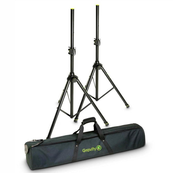Gravity Speaker Stands and Bag Set-Speaker Stands-DJ Supplies Ltd