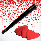 Hand Held Confetti Cannon 50cm Red Hearts-Party Accessories-DJ Supplies Ltd