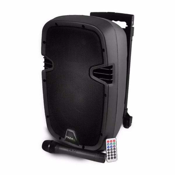 "Ibiza 8"" Portable PA With Bluetooth & Wireless Mic-Portable PA-DJ Supplies Ltd"