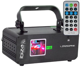 Ibiza Pink Laser-Lighting-DJ Supplies Ltd