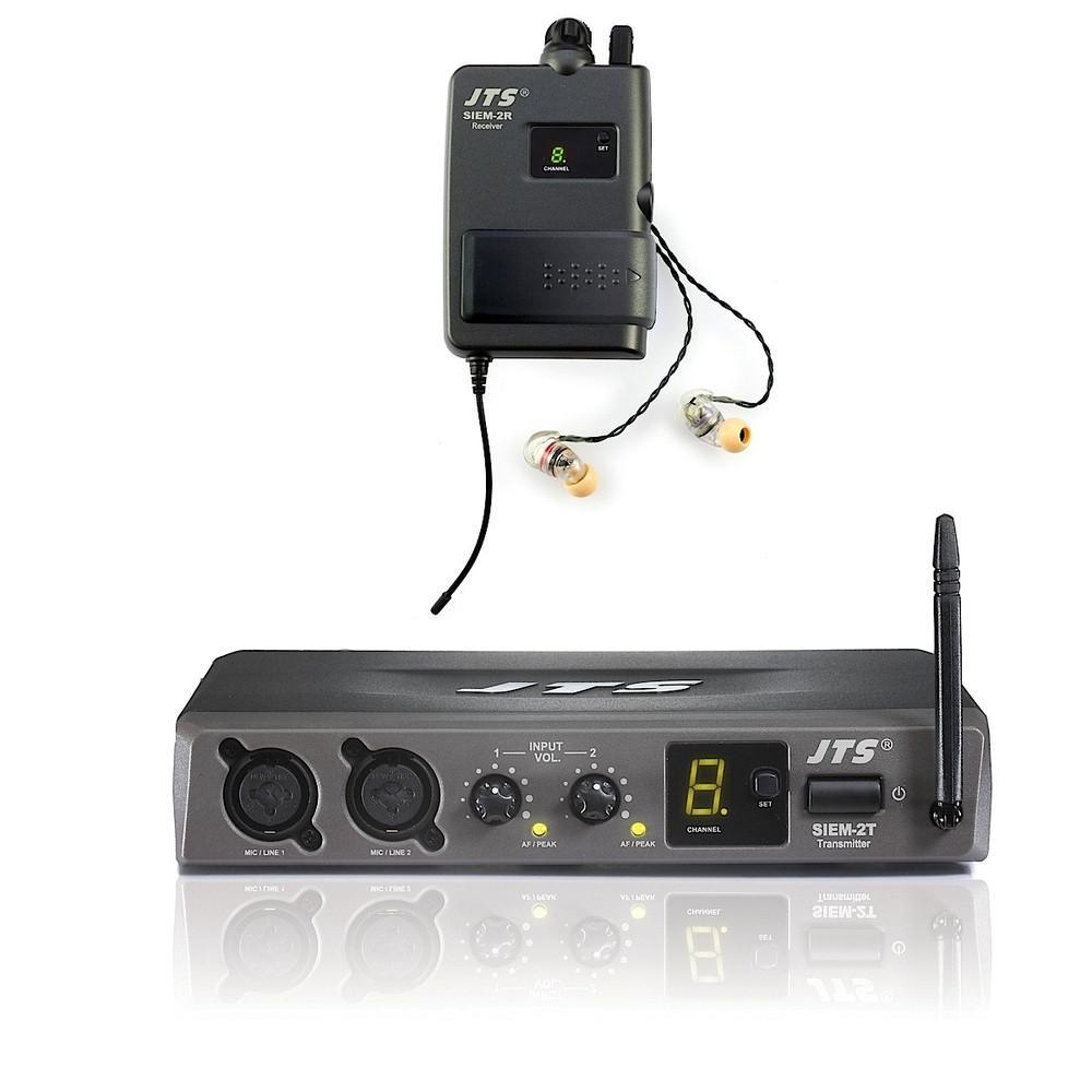 JTS SIEM2 In Ear Wireless Monitors-Microphones-DJ Supplies Ltd