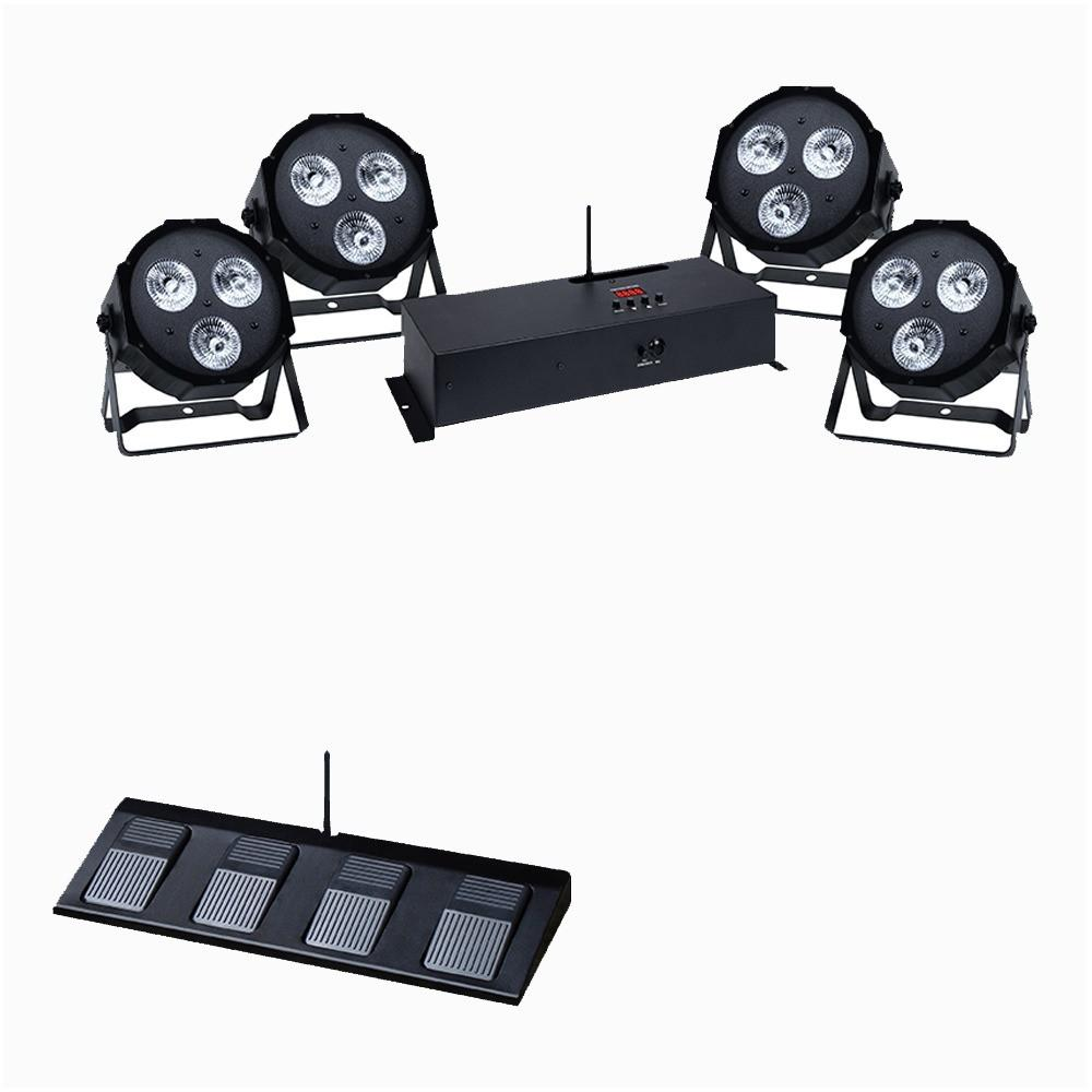 KAM PAR Kit WFS 12x9W-Lighting-DJ Supplies Ltd