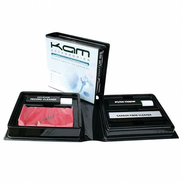 KAM Vinyl Record Cleaning Kit-Turntables-DJ Supplies Ltd
