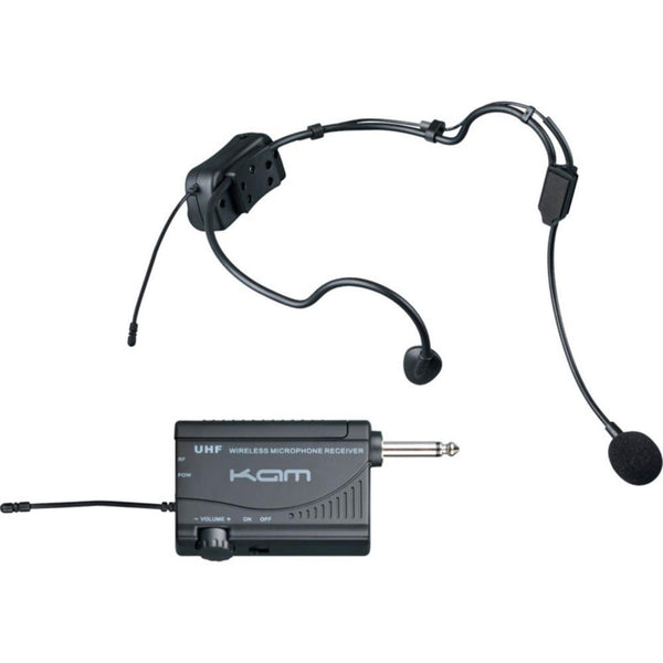 KWM1900BP UHF Wireless Headset Ex Demo-Wireless Microphones-DJ Supplies Ltd