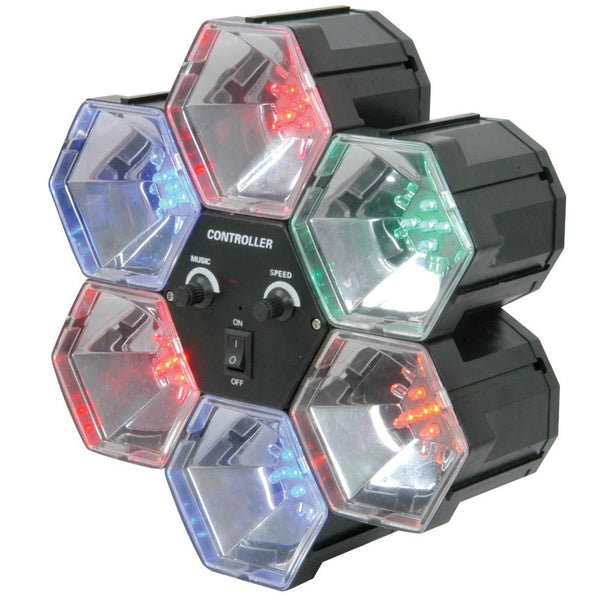 LED Party Lights 6 Way-Lighting-DJ Supplies Ltd
