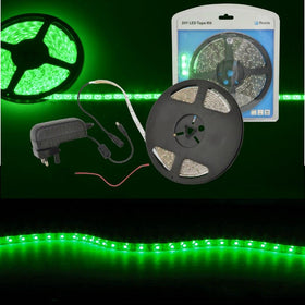 LED Tape Kit 5m Green-Lighting-DJ Supplies Ltd