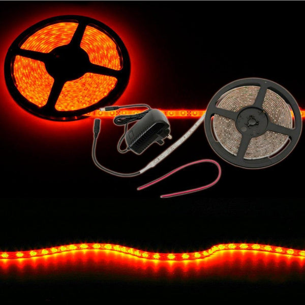 LED Tape Kit 5m Red-Lighting-DJ Supplies Ltd