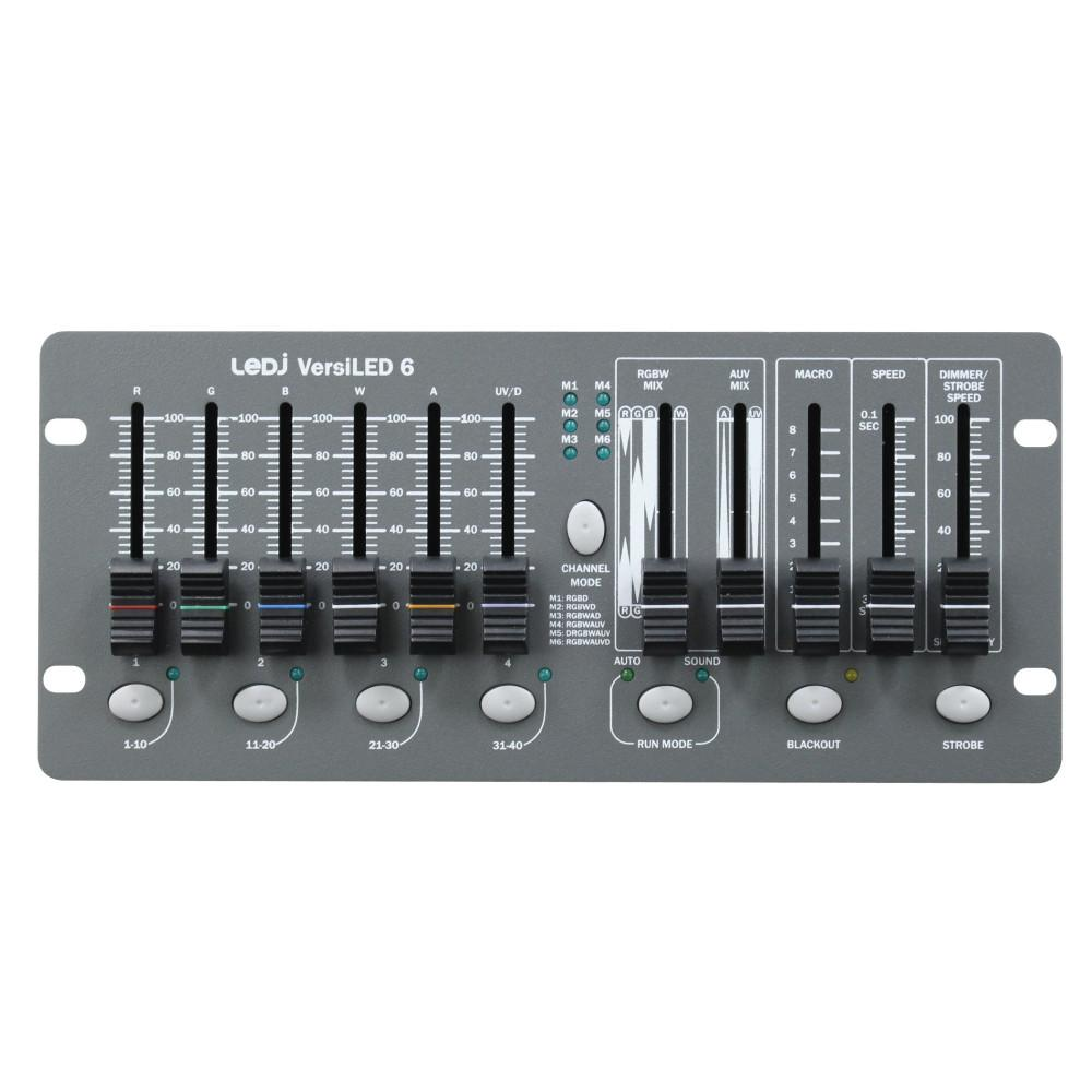 LEDJ VersiLED 6 DMX Controller-Light Controllers-DJ Supplies Ltd