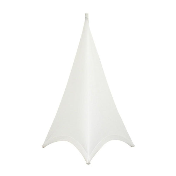 LEDJ White Double Sided Speaker Stand Scrim-Stand Accessories-DJ Supplies Ltd