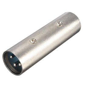 Male XLR Coupler-Connectors-DJ Supplies Ltd