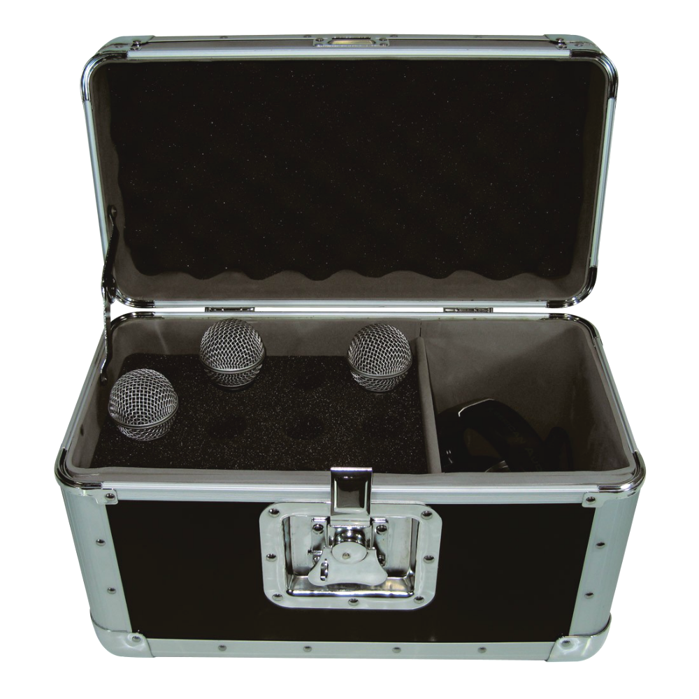 Microphone Flight Case 12 Microphones-Cases-DJ Supplies Ltd