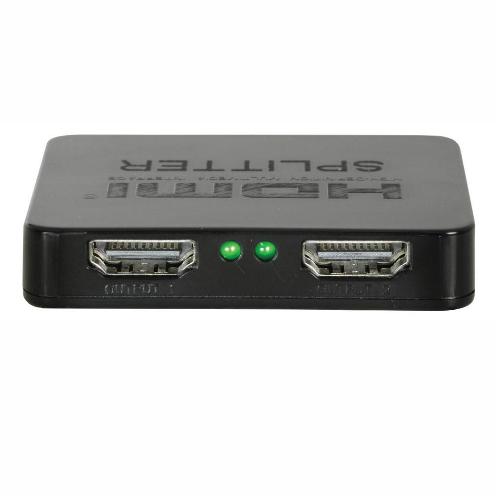 Mini HDMi Splitter 2 Way-Cable Accesories-DJ Supplies Ltd