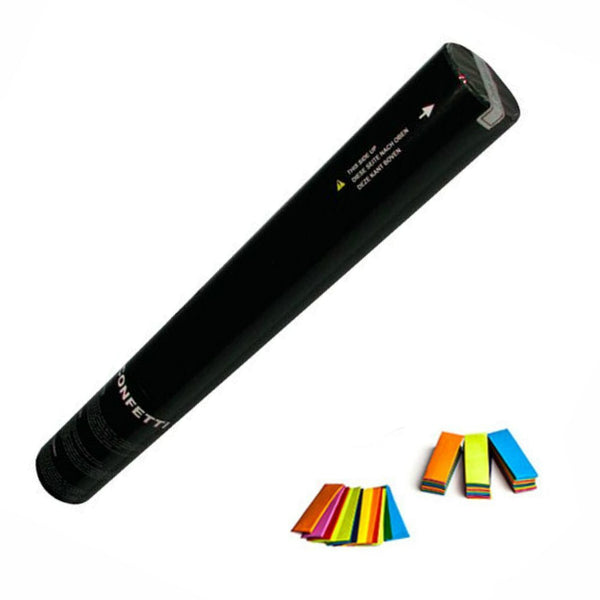 Hand Held Confetti Cannon 50cm Multicoloured-Party Accessories-DJ Supplies Ltd