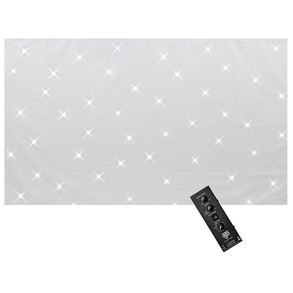 NJD Starcloth 2.1m x 1m White-Lighting-DJ Supplies Ltd