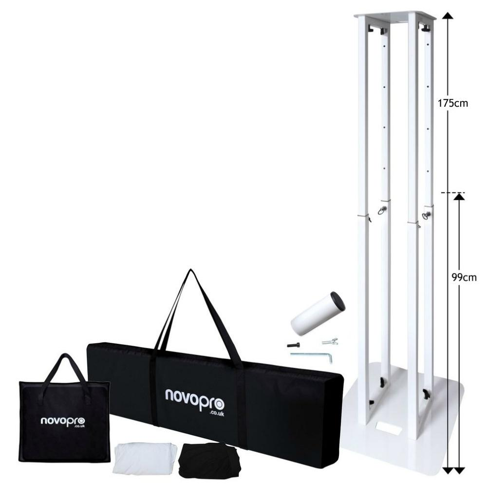 Novopro PS1XL Adjustable Podium-Stand Accessories-DJ Supplies Ltd
