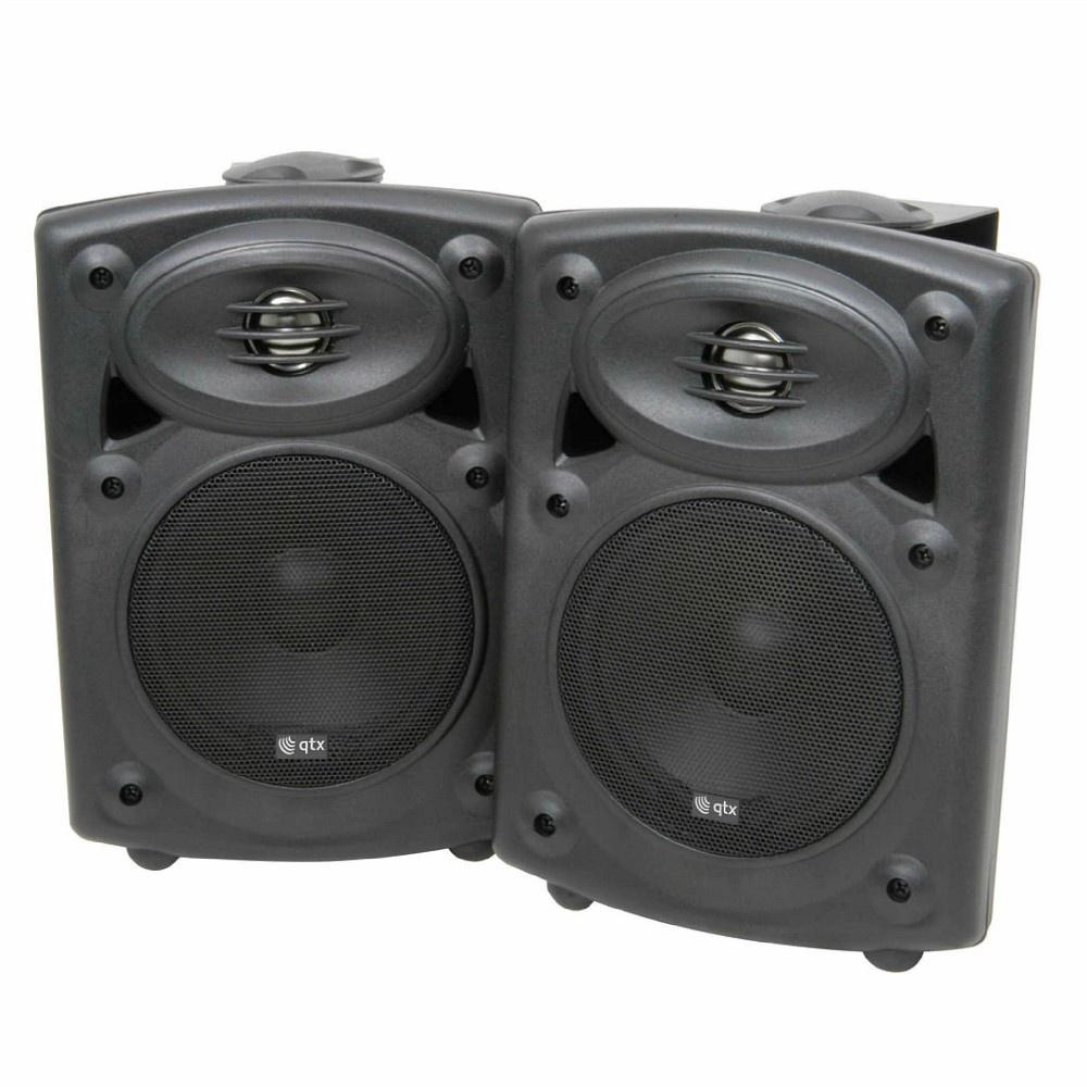QTX 40w Studio Monitors-Active Speakers-DJ Supplies Ltd