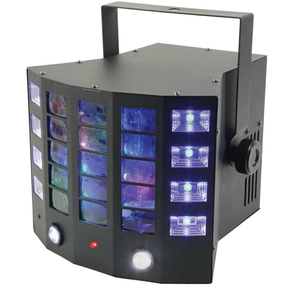 QTX Gobo Derby 4 in 1 Light-Lighting-DJ Supplies Ltd
