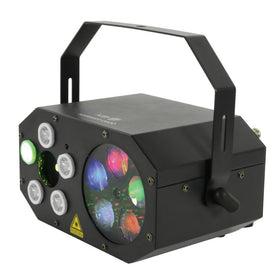 QTX Gobo Starwash 3 in 1 Light-Lighting-DJ Supplies Ltd