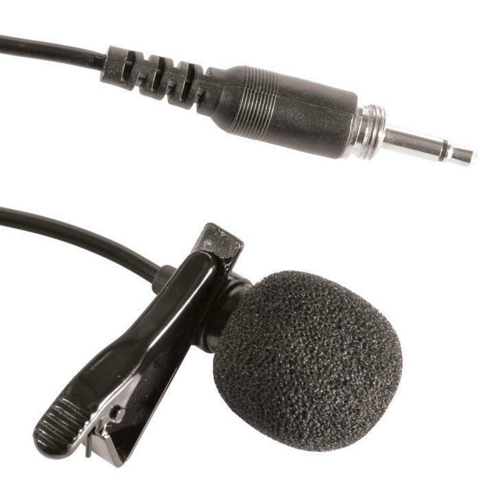 Replacement Lapel Tie Clip Microphone-Microphones-DJ Supplies Ltd