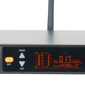 American Audio WM-219 UHF Dual Wireless Microphones-Wireless Microphones-DJ Supplies Ltd