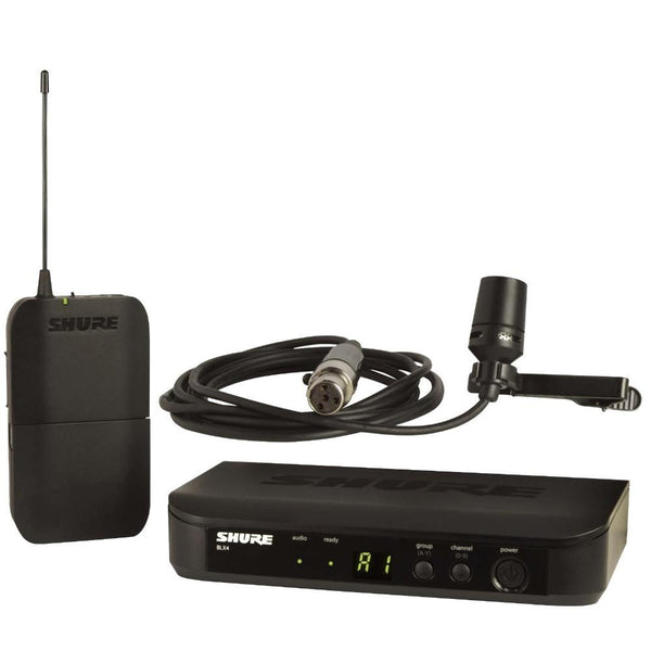 Shure BLX14 CVL Wireless Lapel Microphone-Wireless Microphones-DJ Supplies Ltd