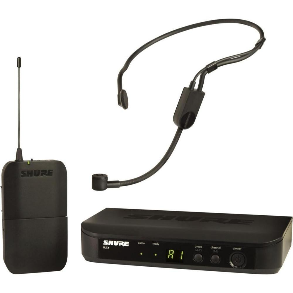 Shure BLX14PGA31 Headworn Wireless Microphone-Wireless Microphones-DJ Supplies Ltd