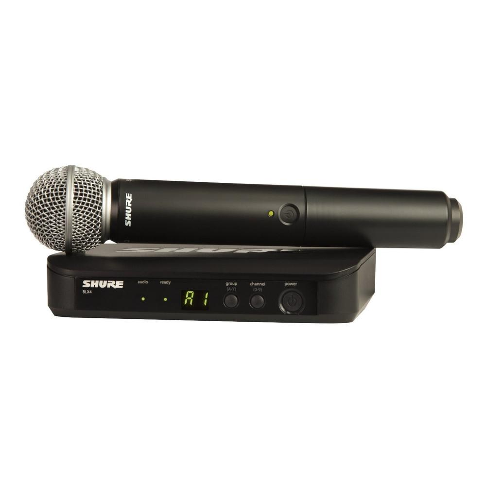 Shure BLX24 SM58 Wireless Microphone-Wireless Microphones-DJ Supplies Ltd