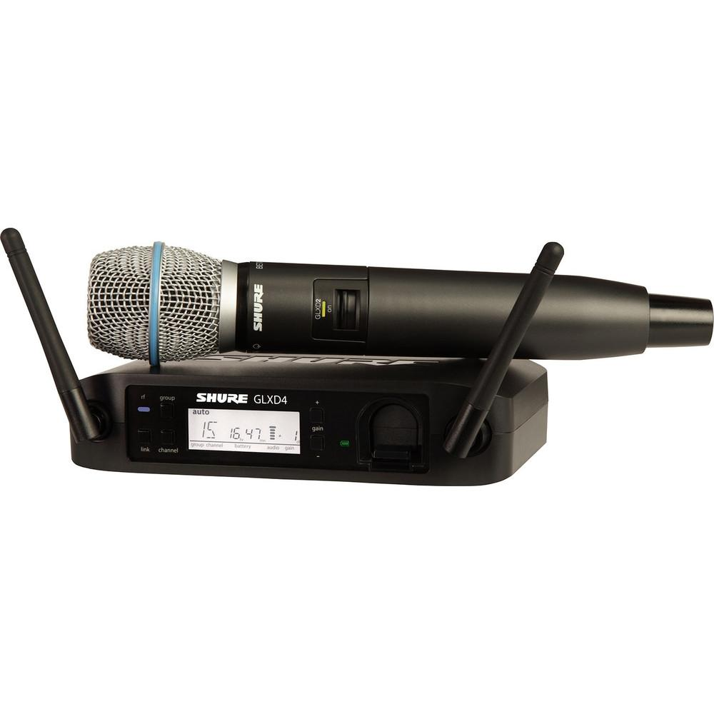 Shure GLXD24 Beta 87A Digital Wireless Microphone-Wireless Microphones-DJ Supplies Ltd