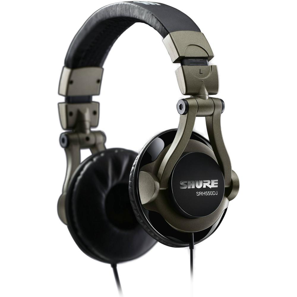 Shure SRH550DJ Headphones-Headphones-DJ Supplies Ltd