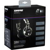 Shure SRH750DJ Headphones-Headphones-DJ Supplies Ltd