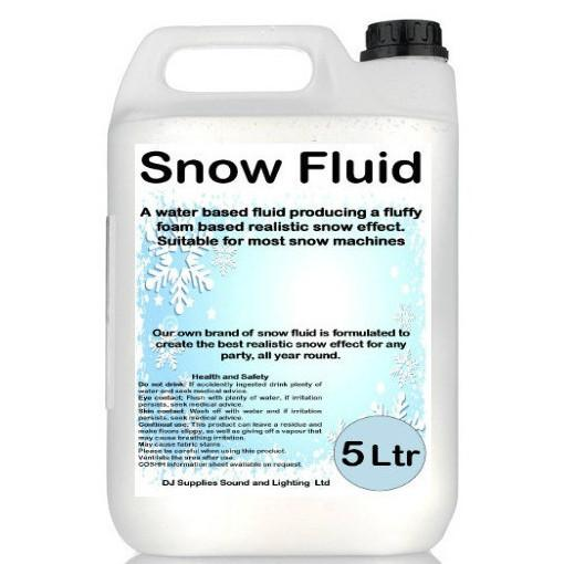Snow Fluid 5L-Special Effects-DJ Supplies Ltd