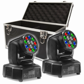 Stagg Headbanger Mini 6 Beam Package-Lighting-DJ Supplies Ltd