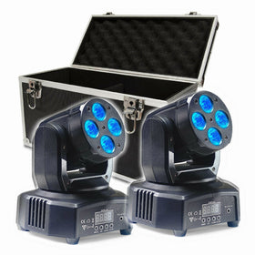 Stagg Headbanger Mini 8 Wash Package-Lighting-DJ Supplies Ltd