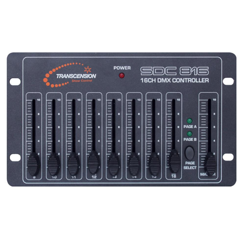 Transcension SDC816 DMX Controller (EX Demo)-Light Controllers-DJ Supplies Ltd