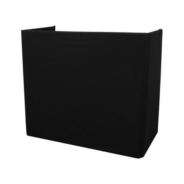 Truss Booth Black Scrim-Stand Accessories-DJ Supplies Ltd