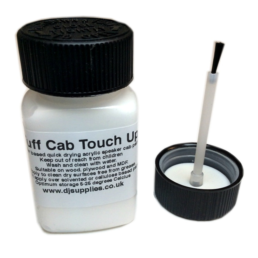 Tuff Cab Speaker Touch Up Paint White 60ml-Accessories-DJ Supplies Ltd