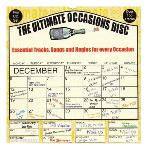 Ultimate Occasions DJ Jingles Cd-DJ Jingles-DJ Supplies Ltd