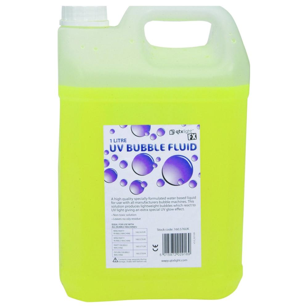 UV Bubble Fluid 5L-Special Effects-DJ Supplies Ltd
