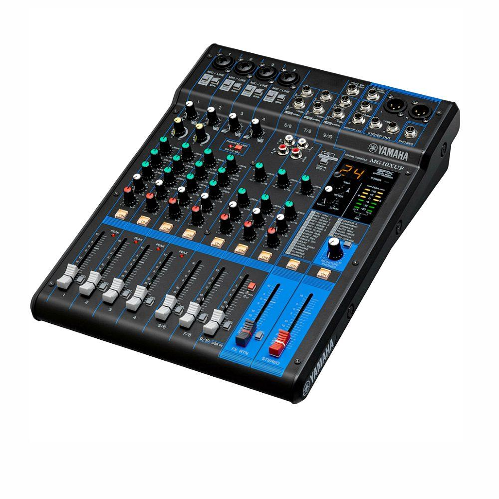 Yamaha MG10XUF USB Mixer With Effects-Live Mixers-DJ Supplies Ltd