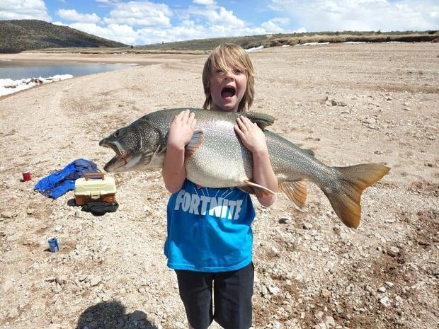 11-Year-Old Catches Monster Trout - TLO Outdoors